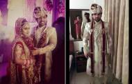 Wedding pics of Ankita Sharma