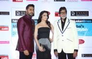 Abhishek Bachchan, Aishwarya Rai Bachchan and Amitabh Bachchan