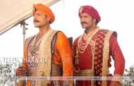 On the sets of Sony TV's Maharana Pratap