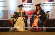 Vidya Balan awarded honorary doctorate