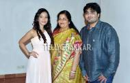 Preetika Rao with Anuradha Paudwal and Aditya Paudwal