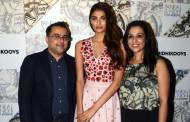 Athiya Shetty with Pankaj and Nidhi Ahuja