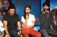 Vikas Bahl, Alia Bhatt and Shahid Kapoor