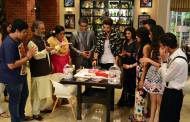 Karan Kundra's 'birthday' celebration on his show's set