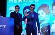 Launch of Discovery's HRX Heroes with Hrithik Roshan