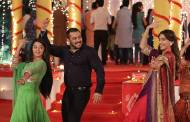 Salman-Sonam on the set of Swaragini and Sasural Simar Ka