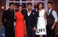 Shah Rukh Khan, Kajol, Kapil Sharma, Kriti Sanon and Varun Dhawan