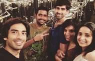 #MonayaWedding: Sanaya-Mohit's Happening Sundown Party