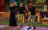 Kapil Sharma with Raveena Tandon and DJ Bravo