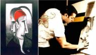 Salman's paintings