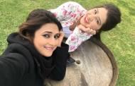 Divyanka Tripathi and Aditi Bhatia