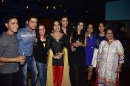 Sanyukt family at 100 episodes celebration of Sanyukt