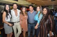 Akanksha Khanna, Gaurav Khanna, Producer Nikhil Sinha, Sohanna Sinha, designer Neerushaa