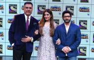 The Judges Boman Irani, Raveena Tondon, and Arshad Warsi
