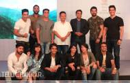 Rannvijay with team at the launch of Arre's The Real High