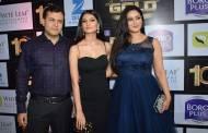 Shweta Tiwari with husband Abhinav Kohli and daughter Palak