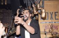 Suyyash Rai while performing