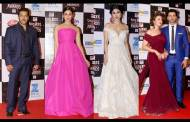Salman Khan,Alia Bhatt, Mouni Roy & Divyanka Tripathi And Vivek Dahiya at the Big Zee awards red carpet