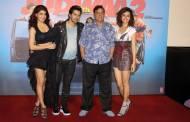 Jaqueline Fernandez, Varun Dhawan, David Dhawan and Taapsee Pannu