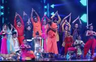 Baba Ramdev on the sets of Super Dancer