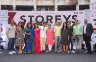 """Celebs at the trailer launch of """"3 Storeys"""""""