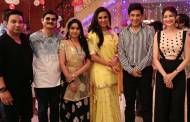 Lara Dutta and Ahmed Khan visit the sets of &TV's Bhabhij