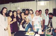 Aditya Redij celebrates birthday on the sets of Porus