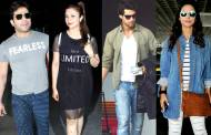 TV actors and their airport looks