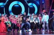 Raftaar on the sets of Zee TV's DID Li'l Masters
