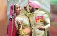 In pics: Ridheema Tiwari & Jaskaran Singh's Punjabi wedding!