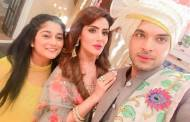 Karan Kundra and team Dil Hi Toh Hai's grand wedding celebrations