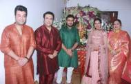 Varun and Abhishek join Govinda for his Ganesh Chaturthi celebrations