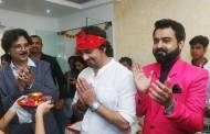Sonu Nigam and Talat Aziz inaugurate Jeetu Shankar's Music Academy & Recording Studio