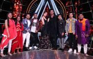 Sara Ali Khan and Sushant Singh Rajput on Indian Idol 10