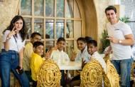 Gautam and Pankhuri celebrate Christmas with NGO kids