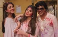 Holi celebrations in SAB TV's Jijaji Chhat Per Hain