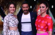 Ajay Devgn, Tabu and Rakul Preet Singh grace Colors' Rising Star