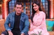 Salman and Katrina have a gala time on the sets of The Kapil Sharma Show