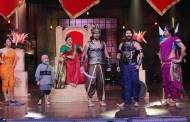 Baahubali act on the set of COLORS' Khatra Khatra Khatra