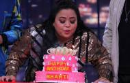 Harsh surprises birthday girl Bharti on sets of Khatra Khatra Khatra