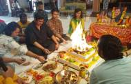 Havan on the sets of Yeh Rishtey Hain Pyaar Ke