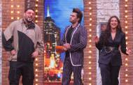 Badshah and Parineeti on the sets of Movie Masti with Maniesh Paul