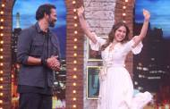 Sara Ali Khan and Rohit Shetty from the sets of Movie Masti with Maniesh Paul