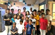 Gautam Rode celebrates Children's Day with underprivileged kids