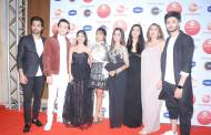 Star's grace the red carpet of an award event function
