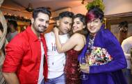 Celebs at Terence Lewis's Christmas Bash