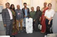 Ravi Dubey, Nandish Sandhu & others attend India Art Festival 2020
