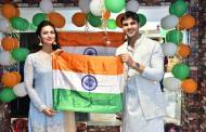 Divyanka Tripathi and Vivek Dahiya at Bhopal for Republic Day Celebration