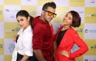 Kapil Sharma, Mouni Roy & Terence Lewis shoot for Break A Leg Season 2