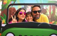 Celebs along with their kids at  Nickelodeon WindMill Festival!
